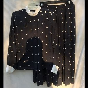 Chaus  skirt/top set size 12